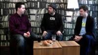 Isarrunde 2012: Michael Praetorius, Christoph Elzer und Benedikt Köhler überlegen, ob wir reif für eDemokratie sind