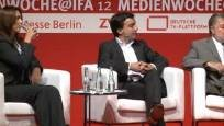 Kurt Beck (SPD), Dr. Hans Hege (mabb) und Jens Redmer (Google): Regulierte Zugangssicherung und Auffindbarkeit von Smart TV (Medienkongress 2012)