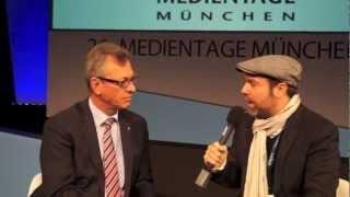 24.10.12 – Siegfried Schneider (BLM-Präsident) zu Netzpolitik und Rundfunkregulierung (Medientage München 2012)