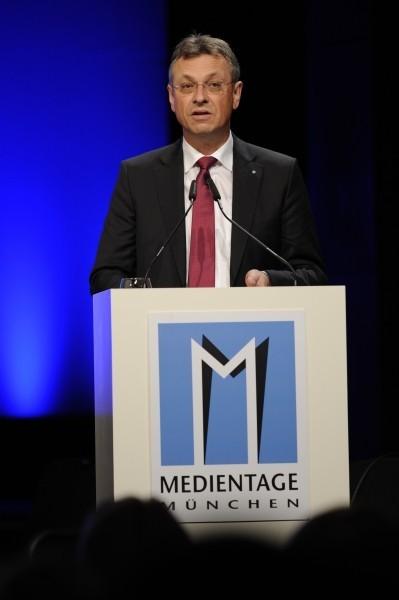 Grußwort zu den Medientagen München 2012 von Siegfried Schneider (BLM)