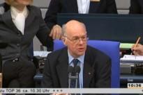 01.03.13 Abstimmung im Bundestag zum Leistungsschutzrecht für Presseverlage: Dr. Norbert Lammert, Bundestagspräsident