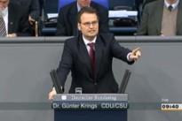 01.03.13 Abstimmung im Bundestag zum Leistungsschutzrecht für Presseverlage: Dr. Günter Krings (CDU/CSU)