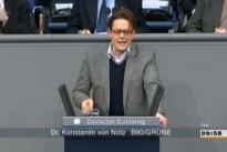 01.03.13 Abstimmung im Bundestag zum Leistungsschutzrecht für Presseverlage: Dr. Konstantin von Notz (B90/GRÜNE)