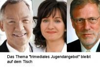 """<h4>Rundfunk:</h4>""""Das Thema 'trimediales Jugendangebot' bleibt auf dem Tisch"""""""