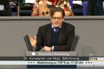 13.02.14 Rede Konstantin von Notz MdB (B90/Die Grünen) zur Einsetzung des Ausschusses Digitale Agenda