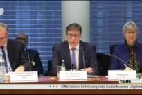 """24.02.16 – Öffentliches Fachgespräch zu den """"Auswirkungen der EU-Datenschutzregelungen"""" im Ausschuss Digitale Agenda"""