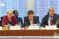 """26.06.17 – Öffentliche Sitzung zum Thema """"Änderung des Telemediengesetzes/ WLAN-Haftung"""" im Ausschuss für Wirtschaft und Energie"""